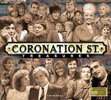 Coronation Street  Treasures by Tim Randall (Hardback, 2005)with DVD / Memorabil