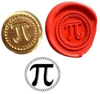 Pi Maths Symbol Wax Stamp Seal Starter KIT or Coin Design Only  XWS039B/XWSC174
