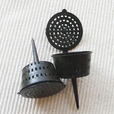 12 pcs L size Fertilizer Baskets For Orchid Bonsai Flower Bark Potting Mix Food