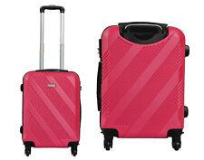 Maleta pequeña de cabina rígida de 4 ruedas 55X40X20 equipaje mano viaje mod1