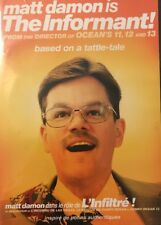 The Informant! (DVD, 2009, Bilingual Canadian Release) Matt Damon [BRAND NEW]