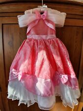 Genuine Disney Store Cinderella Princess Fancy Dress Up pink Ball Gown 2-3 years