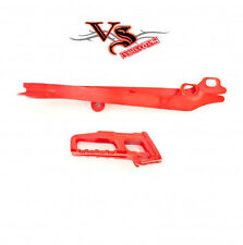Polisport Chain Guide & Slider Kit HONDA CRF250R 11-13, CRF450R 11-12 RED