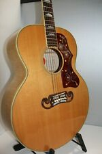 NEAR MINT! RARE GIBSON SJ-200 TV TRUE VINTAGE 2012 NATURAL FRAME