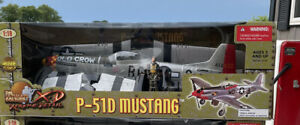 1/18 P-51 Mustang Old Crow 21st Century Ultimate Soldier 1:18