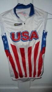 Skins Men's USA cycling bike vest XS, XSMALL