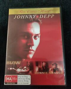 Red Carpet Heroes - Blow & Donnie Brasco DVD