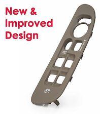 Dodge Ram Door Window Switch Bezel / Cover - New & Improved Design - Taupe