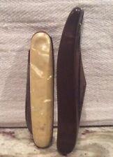 2 Vintage Pocket Knifes 1 IMPERIAL IRELAND Stainless St. Knife And 1 Fake Pearl