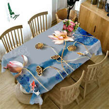 Kraurotic Kotus 3D Tablecloth Table cover Cloth Rectangle Wedding Party Banquet