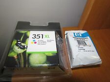 Lot of 2 x New Genuine HP 351XL Tri-Color Ink Cartridge