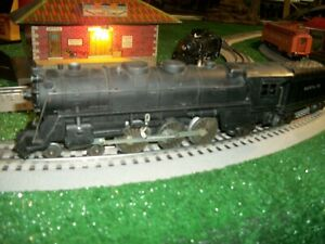 MARX # 333 SMOKER LOCOMOTIVE AND TENDER,  0 SCALE ,