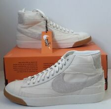 NIKE Blazer Mid Premium Vintage QS Mens Shoe SZ 10 NEW 638322-101 Mummy White