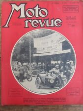 ANCIENNE REVUE MOTO REVUE N° 857 AOUT 1939 ARMEE FRANCAISE MOTOS SIDECARS