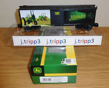 LIONEL 6-83944 JOHN DEERE FARM TRACTOR BOXCAR TOY TRAIN O GAUGE USA PAST PRESENT