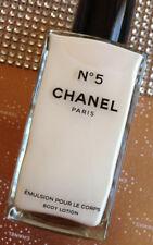 Poco COMÚN ENORME 250ml Chanel Paris más allá Nº 5 Loción Corporal Frasco De Vidrio