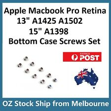 "Apple MacBook Pro 13"" 15"" Retina A1398 A1425 A1502 Bottom Case Screws Set"