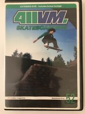 411Vm #52 Skateboard Dvd Tony Trujillo Jamie Thomas Jason Adams Chet Childress