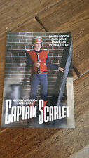 2017 SDCC COMIC CON EXCLUSIVE SIDESHOW GERRY ANDERSON CAPTAIN SCARLET PROMO CARD