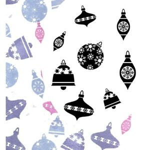 Card-io Bells And Baubles Majestix Clear Peg Stamps CDMABE-02