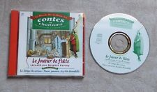 """CD AUDIO MUSIQUE / LE JOUEUR DE FLUTE RACONTE PAR BRIGITTE FOSSEY"""" N°16 - 1996"""