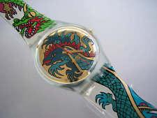 GREEN DRAGON! Colorful Art FANTASY DRAGON Swatch! NIB-RARE!