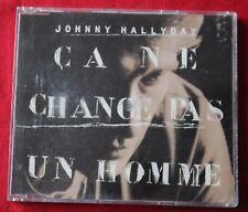 Johnny Hallyday, ça ne change pas un homme, Maxi CD
