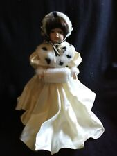 Winter Collectible Doll with stand