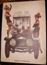 CALENDARIO AGENDA 1968 TUTTOMOTORI AUTOMOBILI AUTO EPOCA