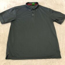 Playerytee Sport Men's Extra Large Gray Polo Shirt Golf XL