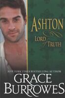 Ashton, Lord of Truth, Paperback by Burrowes, Grace, Like New Used, Free ship...
