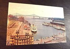 One Giant Sized Used & Posted Post Card Advertising Montreal Canada Undated