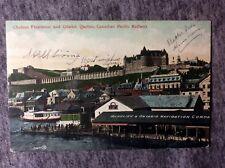CANADIAN PACIFIC RAILWAY CITADED QUEBEC CANADA POSTCARD 1900s #L651