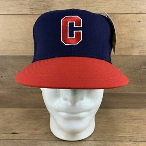 Negro League Official Licensed 1949 Indianapolis Clowns Fitted Baseball Hat Cap