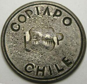 COPIAPO (Chile) Peso 1865 - Silver - VF - 1936 *