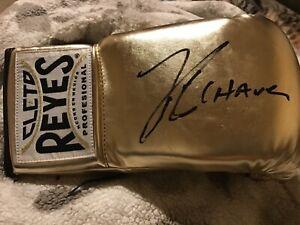 Julio Cesar Chavez Signed Cleto Reyes Boxing PSA/DNA