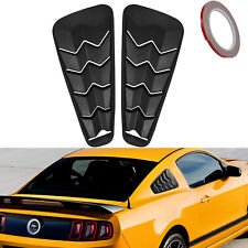 Exterior Quarter Side Window Louvers GT Lambo Cover For Ford Mustang Accessories