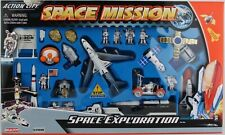 Realtoy NASA SPACE EXPLORATION  MISSION 28 PIECE SET W/KENNEDY SPACE CENTER SIGN