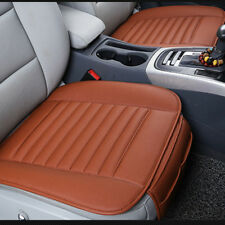 Fit For BMW BENZ AUDI PU Leather Seat Cover Cushion Pad Bamboo Bamboo Charcoal