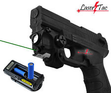 Lasertac Green Laser Light Combo for Springfield XD XD-S XDM Subcompact Pistols