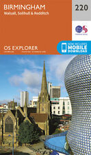 Birmingham Explorer Map 220 - New - OS - Ordnance Survey