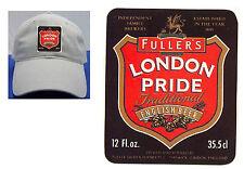 FULLER'S LONDON PRIDE BEER LABEL BALL CAP