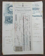 LYON 1893 - At NOGUIER - VIENNOIS  :   MARRONS CLACES   !