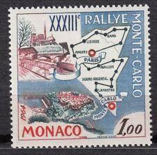TIMBRE MONACO NEUF N° 616 **  33° RALLYE AUTOMOBILE DE MONTE CARLO