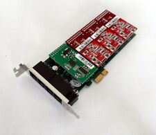 Atcom AXE400PL-13 4 Port Analog PCI-E Asterisk Low Profile Card with 1 FXS 3 FXO