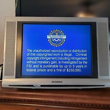 "Sylvania 15"" Flat Panel Lcd Stereo Tv w/ Stand 6615Lfp Small Gaming television"