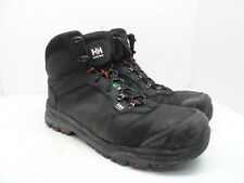 HELLY HANSEN WORKWEAR Men's Composite Toe Composite Plate Leather Boots Black 13