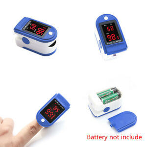 Finger Pulse Oximeter Blood Oxygen SpO2 Monitor PR PI Respiratory Rate HeartBeat