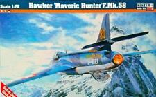HUNTER F MK.58/FGA.9 (SWISS RAF BELGIAN & DUTCH AF MKGS) #D11 1/72 MISTERCRAFT
