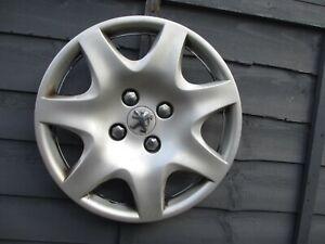 "1 x 15"" Peugeot 207 SW 308 wheel trim hub cap......wk15"